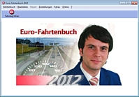 Screenshot vom Programm: Euro-Fahrtenbuch 2012