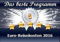 Euro-Reisekosten 2016 / BESTEPROGRAMME.COM