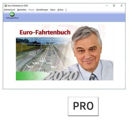 Euro-Fahrtenbuch 2020 PRO
