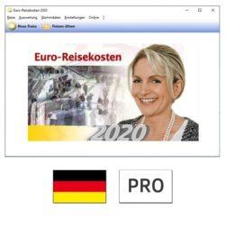 Euro-Reisekosten 2020 PRO