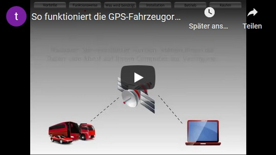 GPS Ortung Demo Video