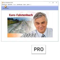 Euro-Fahrtenbuch 2021 PRO
