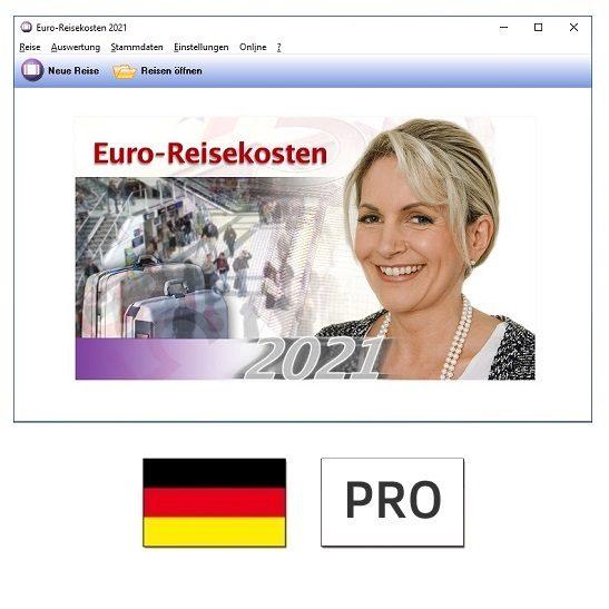 Euro-Reisekosten 2021 PRO