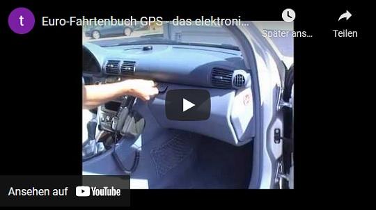 Euro-Fahrtenbuch GPS Demo Video