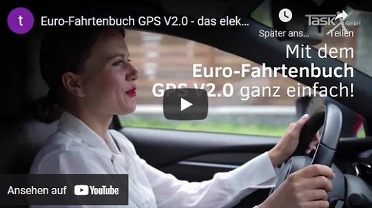 Euro-Fahrtenbuch GPS V2.0 Demo Video